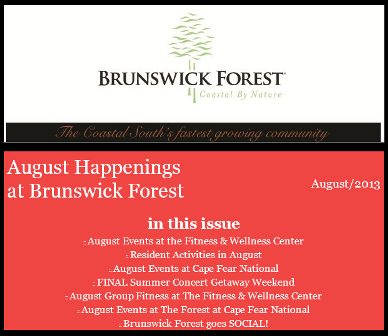August Events 2013