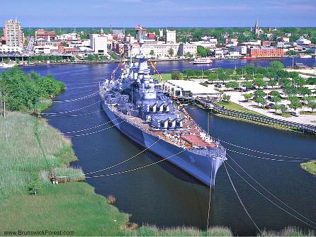 USS NORTH CAROLINA BATTLESHIP