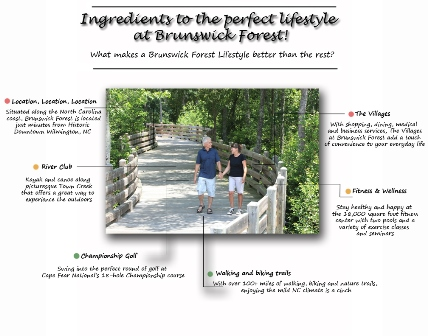 Brunswick Forest amenities and lifestyle