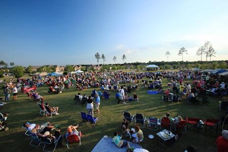 Annsdale Park concert event