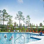 Hammock Pool - A gorgeous lakeside pool with splash pad overlooking Hammock Lake