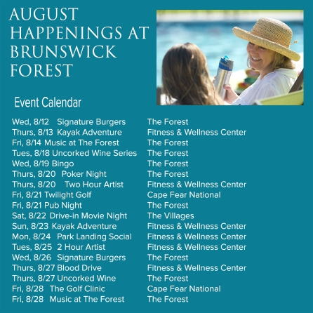 AUG EVENTS 2014