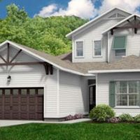 The Carot Bay at Brunswick Forest - front elevation 3