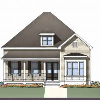 The Cooper at Brunswick Forest - front elevation 1