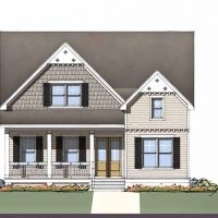 The Cooper at Brunswick Forest - front elevation 3