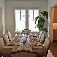 The dining room at the Cooper at Brunswick Forest