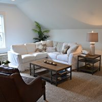 The bonus room in the Cooper at Brunswick Forest
