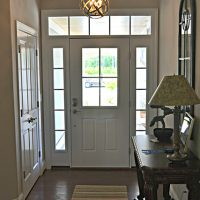 The entryway of the Summerwind Villas at Brunswick Forest