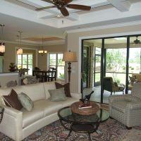 Harmony II At Brunswick Forest Living Room