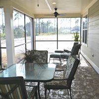 Jonesport screened porch