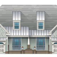 St. Thomas II at Brunswick Forest - front elevation 1