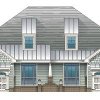 The St. Thomas at Brunswick Forest - front elevation 1