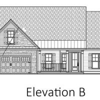 The Blue Heron II at Brunswick Forest - front elevation 2