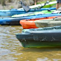 KAYAKS in Hammock Lake At Brunswick Forest