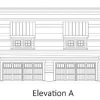 The Drayton I at Brunswick Forest - front elevation 1
