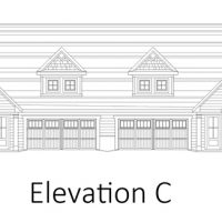 The Drayton I at Brunswick Forest - front elevation 3
