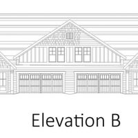 The Drayton II at Brunswick Forest - front elevation 2