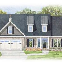 The Heron II at Brunswick Forest - front elevation 4
