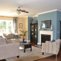 The family room of the Heron at Brunswick Forest