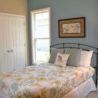 The guest bedroom of the Heron at Brunswick Forest