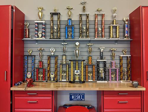 Bill Wisniewski's Trophy Case - Car Show Victories
