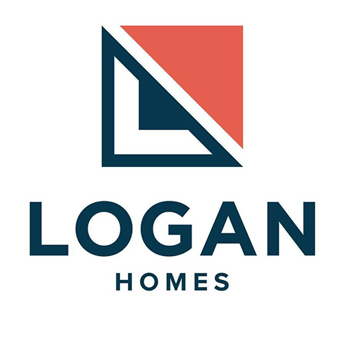 Icon is the official logo for Logan Homes